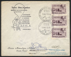 107 ARGENTINE ANTARCTICA: 16/MAY/1970 Inauguration Of The Research Station In Gral. Belg - Unclassified