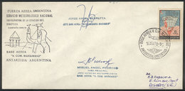 108 ARGENTINE ANTARCTICA: 14/AU/1970 Inauguration Of The Antarctic Synoptic Weather Stat - Unclassified