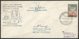 108 ARGENTINE ANTARCTICA: 14/AU/1970 Inauguration Of The Antarctic Synoptic Weather Stat - Argentina