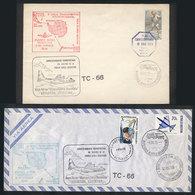 111 ARGENTINE ANTARCTICA: 4 To 10/DE/1973 TRANSANTAR Operation: Experimental Flight From - Argentina