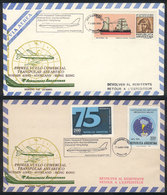 112 ARGENTINE ANTARCTICA: 7/JUN/1980 First Transpolar Commercial Flight Buenos Aires - A - Argentina