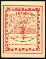 119 ARGENTINA: Book: ROSASCO, Enrique: Los Sellos De La Confederación Argentina, 267 Pag - Specialized Literature