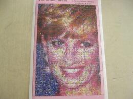 Nevis  Millennium Princess Diana Photomosaic I201802 - St.Kitts And Nevis ( 1983-...)