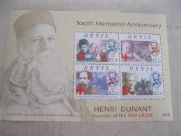 Nevis  2010 Red Cross Henri Dunant  I201802 - St.Kitts Y Nevis ( 1983-...)