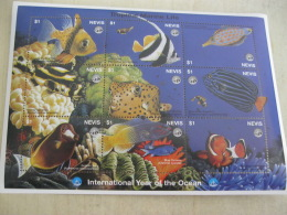 Nevis Fish Marine Life  I201802 - St.Kitts And Nevis ( 1983-...)