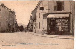 BRUYERES-en-VOSGES  Avenue  GAMBETTA , Vue De La Place Stanislas - Bruyeres