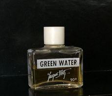 """Ancienne Miniature """"Green Water"""" De JACQUES FATH  EDT 4 Ml Sans Boîte - Vintage Miniatures (until 1960)"""