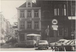 Amsterdam - FIAT 500, ELECTRO-PANEL-VAN 'Van Gend & Loos', TOYOTA COROLLA, OPEL REKORD-D - Leidseplein - Toerisme