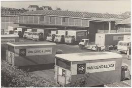 Amsterdam - DAF & BEDFORD TRUCKS -  'Van Gend & Loos' - Loods En Werkplaatsen - Cruquiuskade - Passenger Cars
