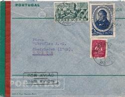 Lettre Soreal Porto Pour La Suisse - 1910-... République