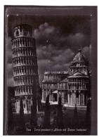 12122   -    PISA- LA TORRE PENDENTE ED ABSIDE DEL DUOMO   /     VIAGGIATA - Pisa