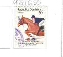 Rep.Dominicana PO 1986 Games Caraibi .Scott.977 Nuovo/Used See Scans On Scott.Page - Repubblica Domenicana