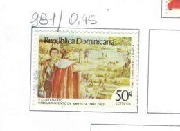 Rep.Dominicana PO 1986 Scoperta America Scott.981 Nuovo/Used See Scans On Scott.Page - Repubblica Domenicana