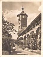 ROTHENBURG OB DER TAUBER KLINGENFCHUTT WALL - Rotenburg