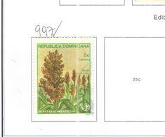 Rep.Dominicana PO 1987 Piante   Scott.997 Nuovo/Used See Scans On Scott.Page - Repubblica Domenicana