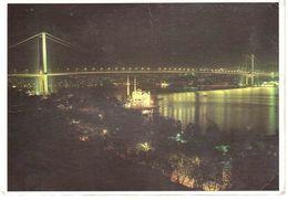 BOSPHORUS BRIDGE ISTANBUL CART.X ITALIA - Turchia