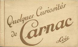 10 AKs / CPAs Carnac Bretagne Alignements Dolmen Folder #01 - Dolmen & Menhire