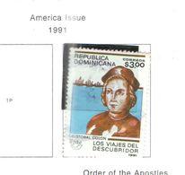 Rep.Dominicana PO 1991 Scoperta America   Scott.1110 Nuovo/Used See Scans On Scott.Page - Repubblica Domenicana