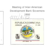 Rep.Dominicana PO 1992 Governatori Banche   Scott.1111 Nuovo/Used See Scans On Scott.Page - Repubblica Domenicana