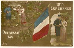 Détresse 1870 - Espérance 1914 - Patrióticos