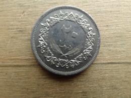 Libye  20  Dirhams  1975  Km 15 - Libya