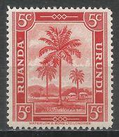 Ruanda-Urundi 1942. Scott #68 (MH) Oil Palms - Ruanda-Urundi