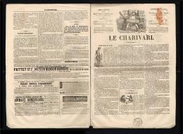 1846 - France  - Newspaper Le Charivari 4 Pages [B08_034] - Kranten