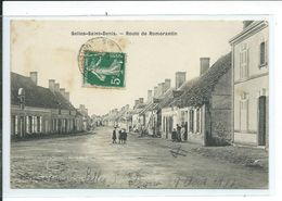 Selles-Saint-Denis-Route De Romorantin - Selles Sur Cher