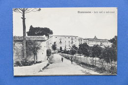 Cartolina Montecassino - Lato Sud E Sud-ovest - 1910 Ca. - Frosinone