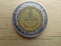 Libye  1/2  Dinar  2009  Km 31 - Libya