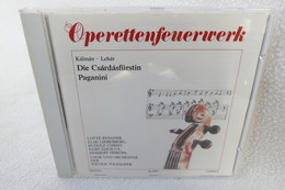 "CD ""Operettenfeuerwerk"" Kálmán, Lehár - Oper & Operette"