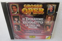 """CD """"Grosse Oper"""" Auszüge Aus Il Trovatore Rigoletto, La Forza Del Destino - Opera"""