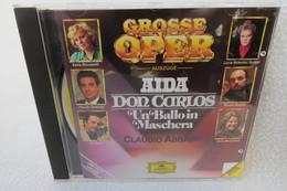 "CD ""Grosse Oper"" Auszüge Aus Aida, Don Carlos, Un Ballo In Maschera, Claudio Abbado, Limitierte Auflage - Opera"