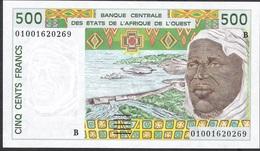 WEST AFRICAN STATES BENIN P210Bn 500 FRANCS (20)01 UNC. - Benin