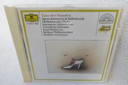 "CD ""Tanz Der Stunden"" Opern-Intermezzi & Ballettmusik, Berliner Philharmoniker, Herbert Von Karajan - Oper & Operette"