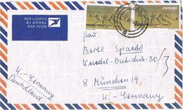 27720. Carta Aerea OTAVI (South Africa) SWA 1983. Leopardo - África Del Sur (1961-...)