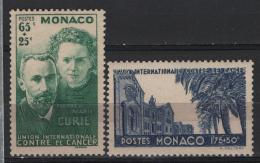 Monaco 1938 Unif. 167/68 **/MNH VF - Neufs