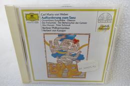 """CD """"Aufforderung Zum Tanz"""" Carl Maria Von Weber, Ouvertüren, Berliner Philharmoniker, Herbert Von Karajan - Opera"""