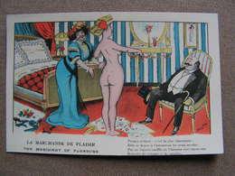 Cpa Xavier Sager Femme Nue Seins Illustrateur Curiosa La Marchande De Plaisir The Marchant Of Pleasure  N° 62 - Sager, Xavier