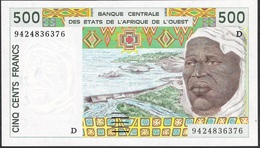WEST AFRICAN STATES MALI P410Dd 500 FRANCS (19)94 UNC. - Mali