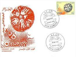 FDC EXPO 2000 HANNOVER - 2000 – Hannover (Deutschland)