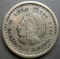 Mexique - Fausse Pièce De Monnaie 5 Pesos 1948 - Mexique