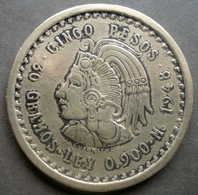Mexique - Fausse Pièce De Monnaie 5 Pesos 1948 - Messico