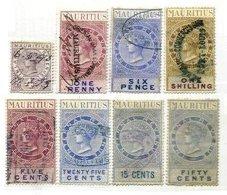 MAURITIUS, Revenues, Used, F/VF, Cat. £ 12 - Mauritius (...-1967)