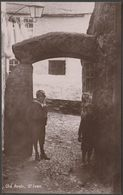 Old Arch, St Ives, Cornwall, C.1910 - Davidson Bros RP Postcard - St.Ives