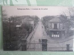Aulnay Sous Bois , L Avenue Du 14 Juillet - Aulnay Sous Bois