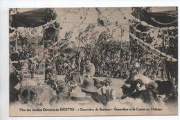 FETE DES JARDINS OUVRIERS DE BICETRE (95) - GENEVIEVE DE BRABANT - GENEVIEVE ET LE COMTE AU CHATEAU - France