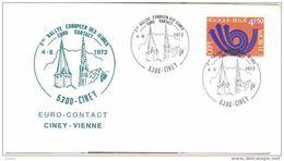 Rallye Européen Jeunes Euro Contact Ciney Vienne - 1973