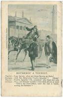 Botherin' A Tourist (Dublin Post Office) - Lawrence - Postmark 1903 - Humor