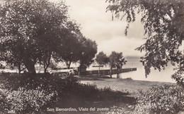 SAN BERNARDINO, VISTA DEL PUERTO. EDIT LIBRERIA NACIONAL. PARAGUAY-TBE-BLEUP - Paraguay